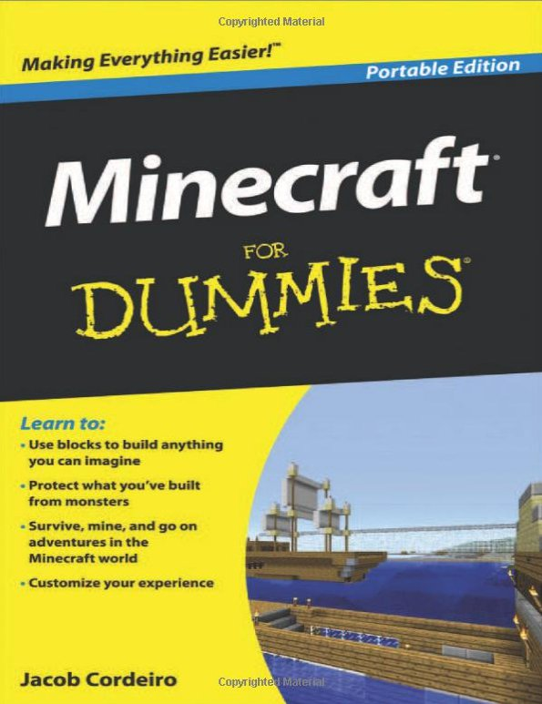 I'm Writing Minecraft For Dummies, and This Time it's a Family Affair